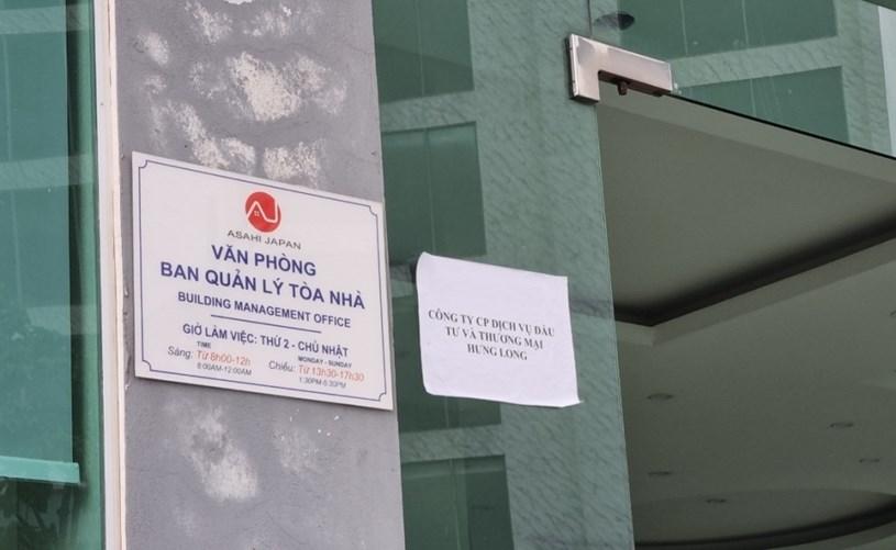 Văn phòng nơi bán hàng của Công ty Cổ phần Tập đoàn Đầu tư và Thương Mại Thăng Long
