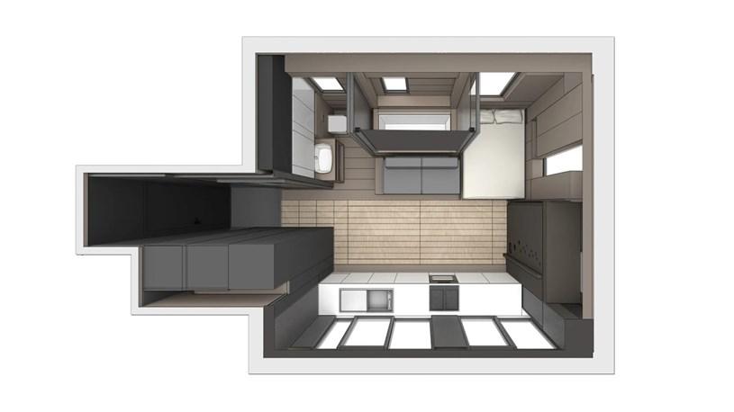Giải pháp thông minh cho căn hộ chung cư nhỏ - Một ví dụ từ Hong Kong - Ảnh 5