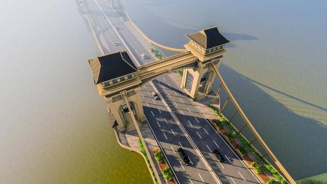 Tổng vốn đầu tư cho cầu Trần Hưng Đạo dự kiến hơn 8.900 tỷ đồng.